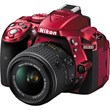 Nikon D5300 Digital SLR Red 18-55mm F3.5-5.6 VR II
